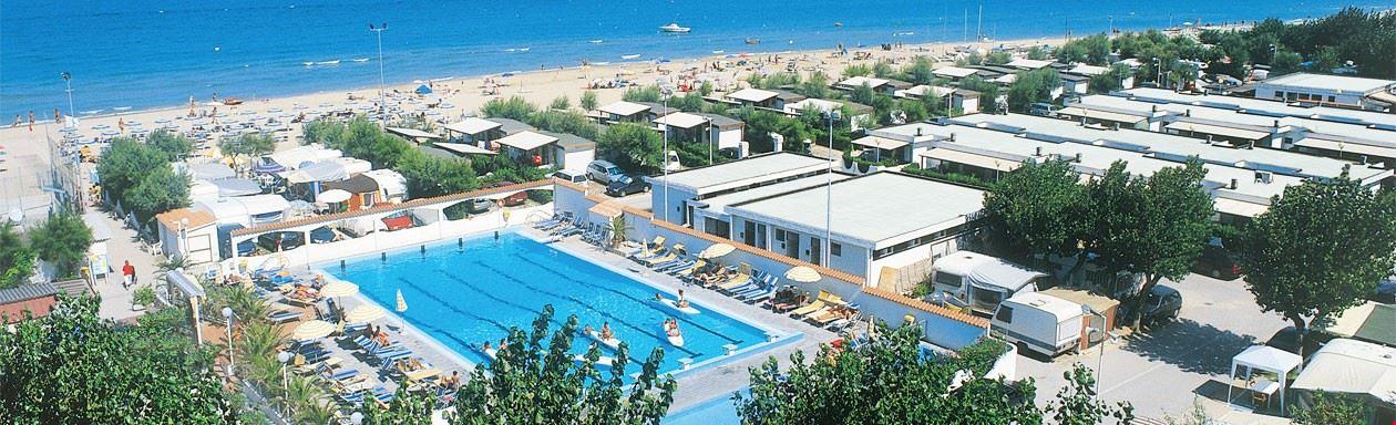 Camping Village sul Mare nelle Marche