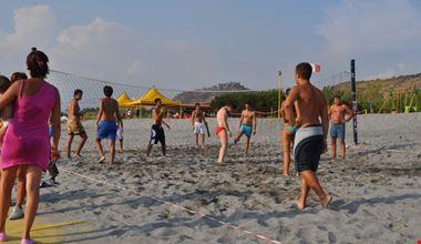 Beach Volley a Diamante in Calabria