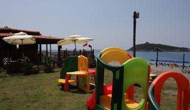 Parco giochi vicino alla spiaggia a Diamante (CS)
