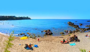 Spiaggia a Cefalù