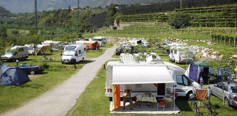 Campeggio in Alto Adige