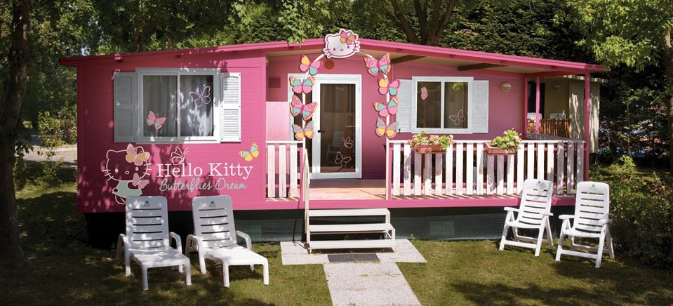 Casa Mobile Hello Kitty al Lago di Garda