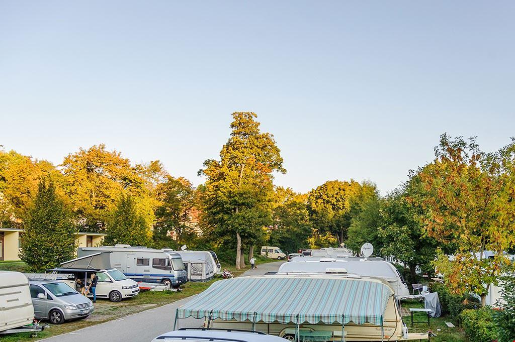 Campeggio vicino a Vienna