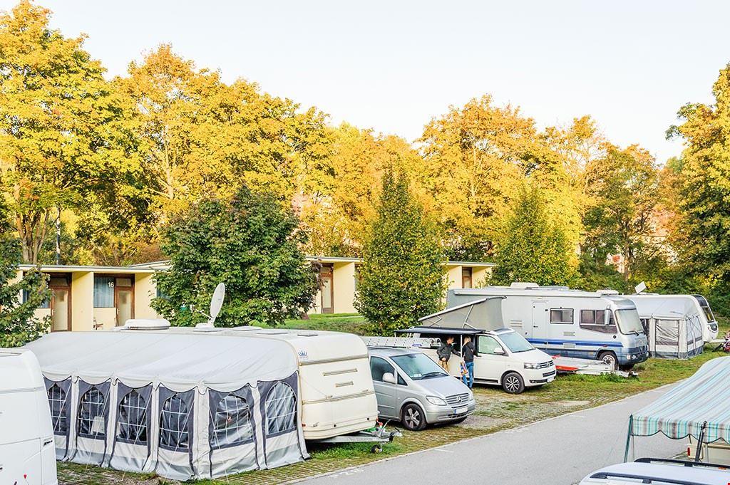 Piazzole Camper a Vienna in Austria