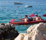 Sport sull'acqua a Krk