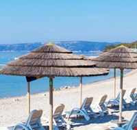 Spiaggia del Camping Jezevac, Croazia