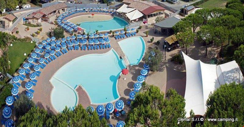 Campeggio con piscina in Toscana