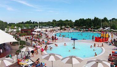 Parco piscine ai Lidi di Comacchio