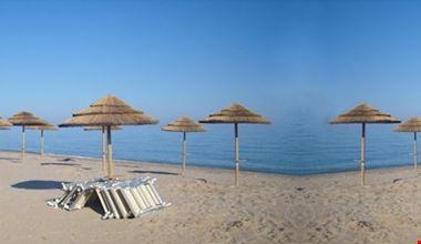 La spiaggia del Blue Park - Villaggio Camping