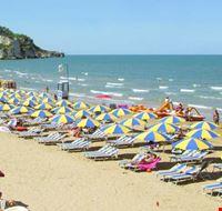 La spiaggia di Peschici