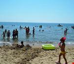 La spiaggia del Villaggio le Palatine, Basilicata
