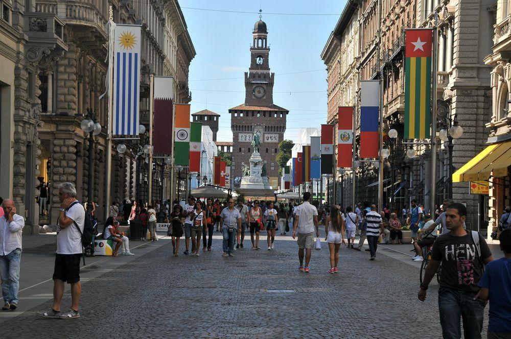 Via Dante a Milano