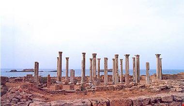 libia - i tesori del deserto: diari di viaggio - Porta Di Sicurezza Con La Scena Del Deserto